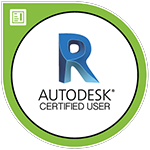 Badge de la certification Revit sur F3DF E-learning